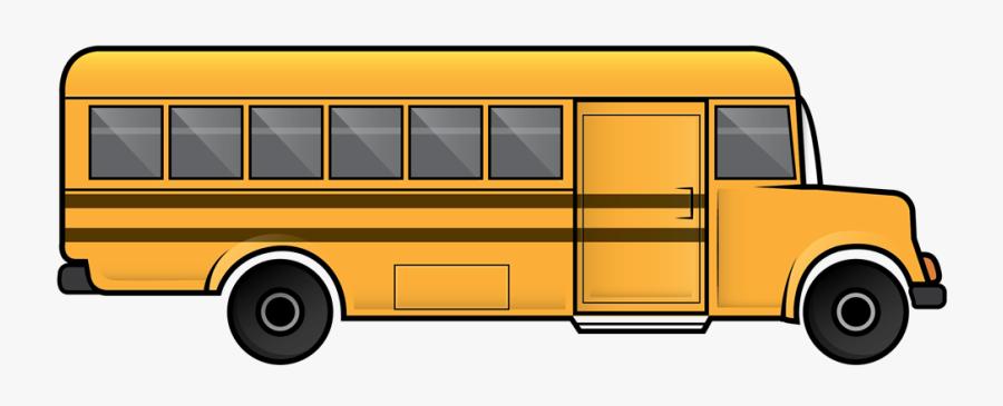 Free Clip Art School Bus Clipart Images - Transparent Background School Bus Clipart, Transparent Clipart