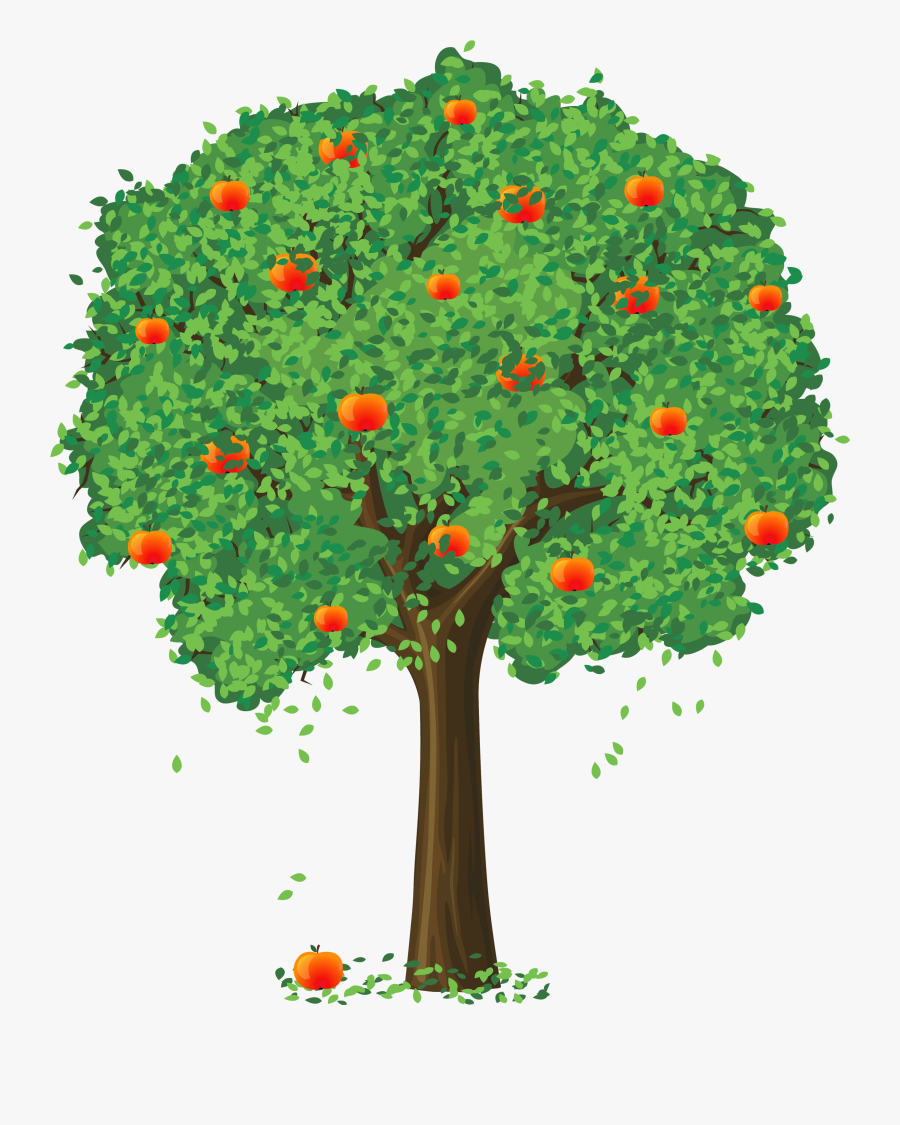 Trees Tree Apple Orchard Kid Clipart Clipart - Apple Tree Clipart Png, Transparent Clipart