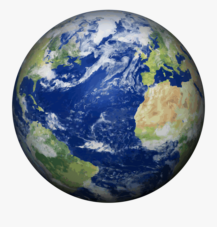 Earth Clipart Realistic - Earth Png, Transparent Clipart