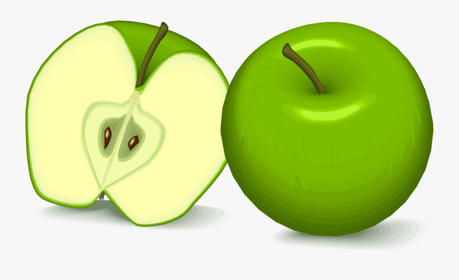 Plant,apple,granny Smith - Gambar Buah Apel Kartun, Transparent Clipart