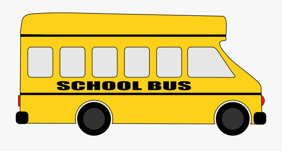 School Yellow Bus Png, Transparent Clipart