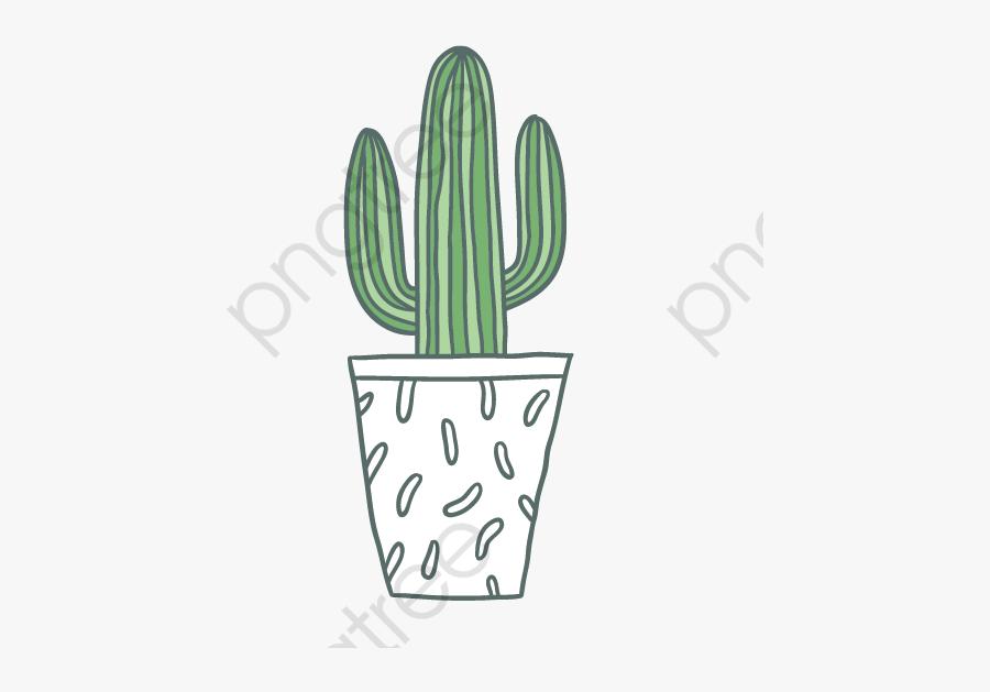 Cactus Clipart Vector - Кактус На Прозрачном Фоне, Transparent Clipart