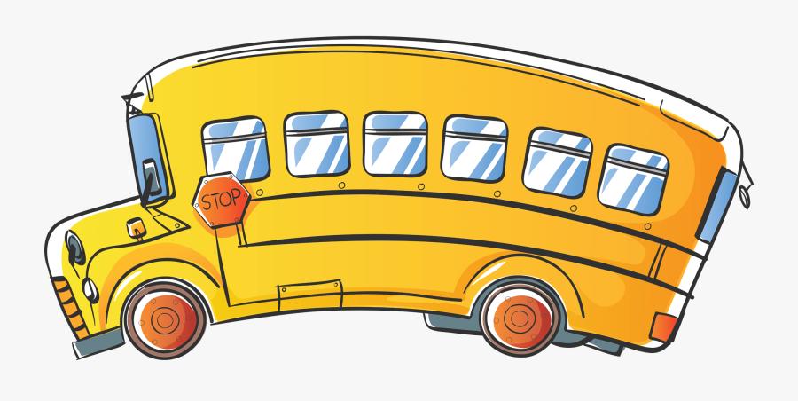 School Bus Clipart Png, Transparent Clipart