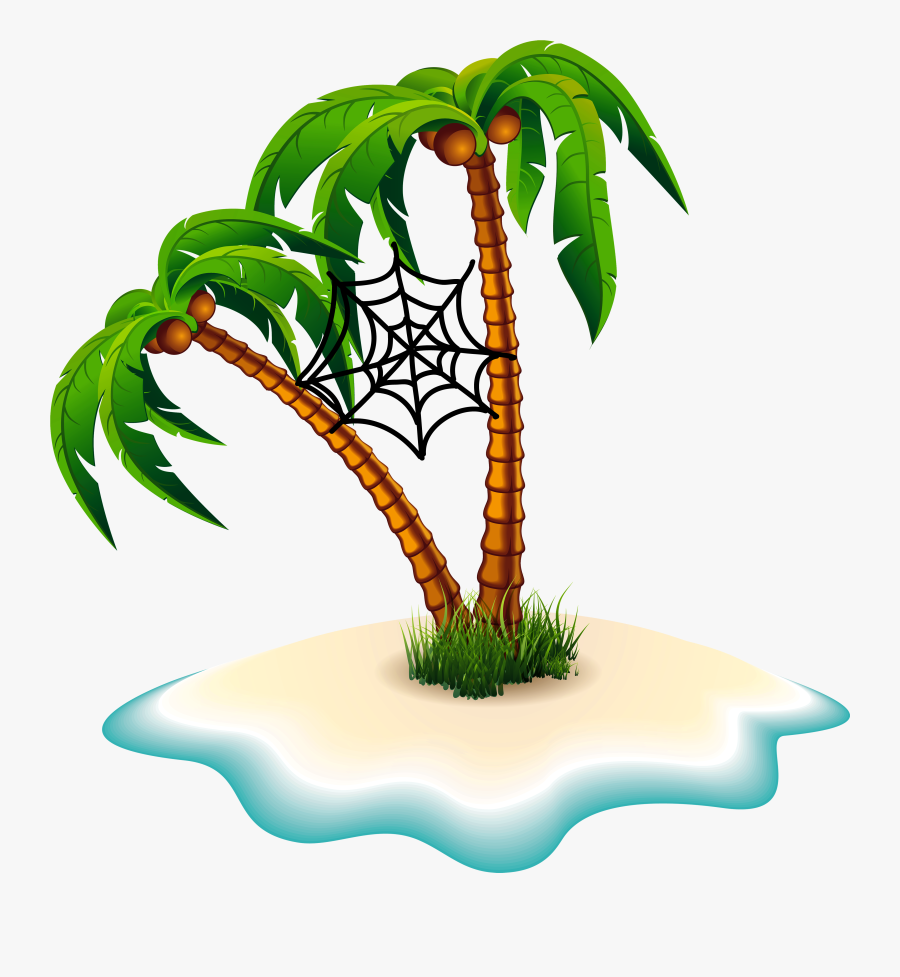 Palm Trees Clip Art Portable Network Graphics Transparency - Clipart Palm Tree Png, Transparent Clipart