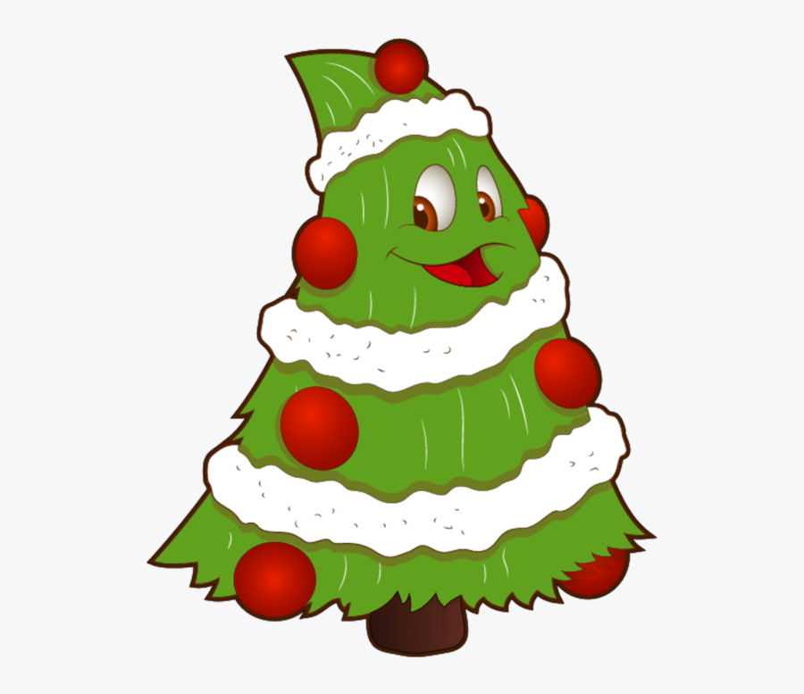 Transparent Funny Small Christmas Tree Png Clipart - Funny Christmas Tree Clipart, Transparent Clipart