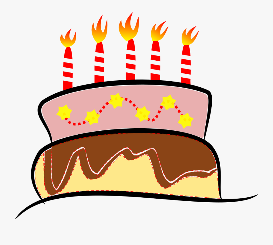 Thumb Image - Birthday Cake Png Gif, Transparent Clipart