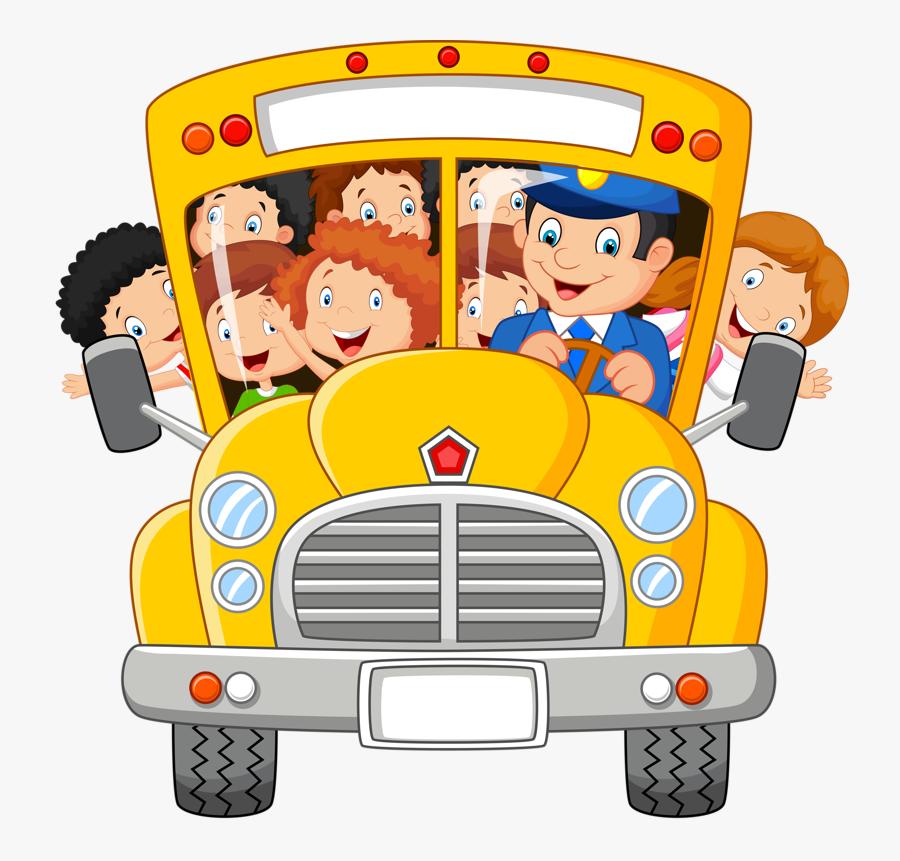 School Bus Clipart Png - School Bus Driver Clip Art, Transparent Clipart