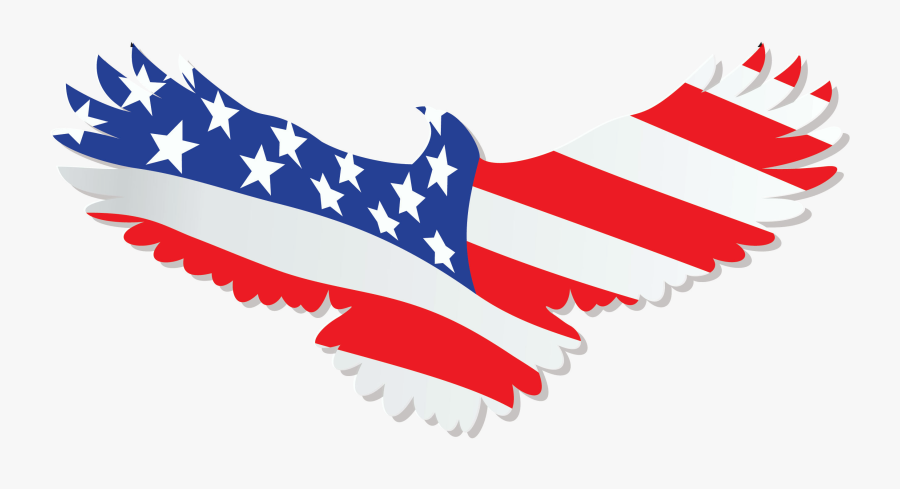 Download Usa Eagle Png - Silhouette Of American Eagle, Transparent Clipart
