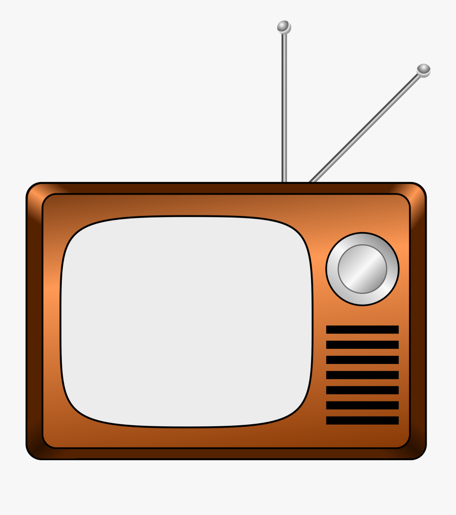 Old Fashioned Tv Cartoon, Transparent Clipart