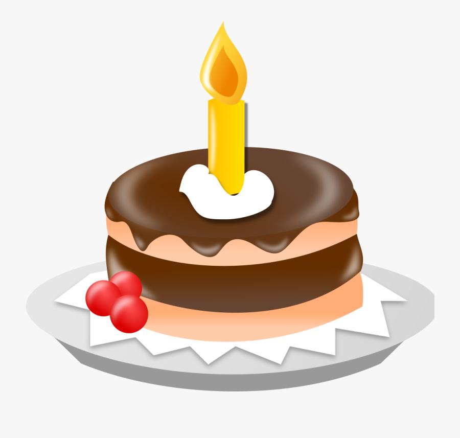 Birthday Cake Ns - Birthday Cake Clip Art, Transparent Clipart