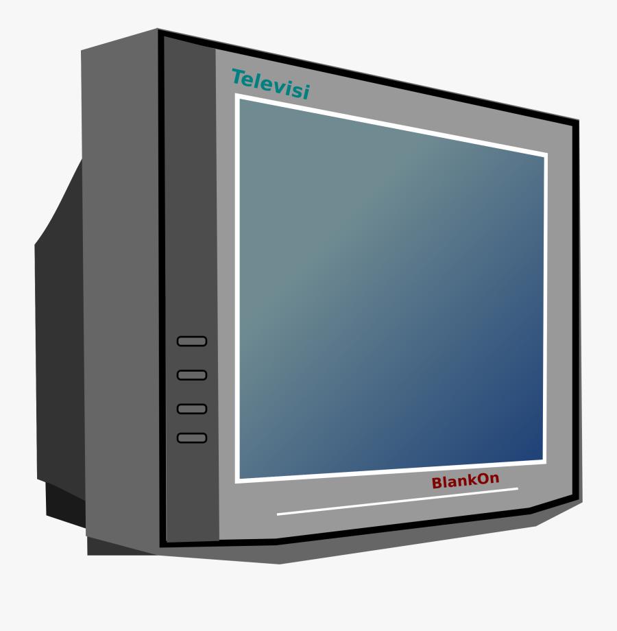 Tv Television Clip Art 2 Image - Tv Clipart, Transparent Clipart