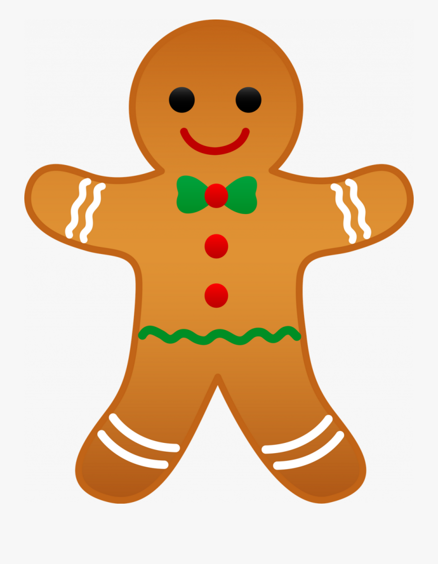 Christmas ~ Christmas Tree Clip Art Best And Holiday - Christmas Gingerbread Man Clipart, Transparent Clipart