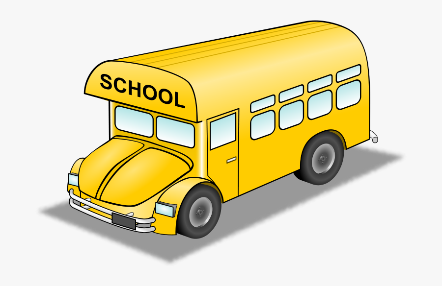 Old Bus Clipart, Vector Clip Art Online, Royalty Free - Small School Bus Clipart, Transparent Clipart