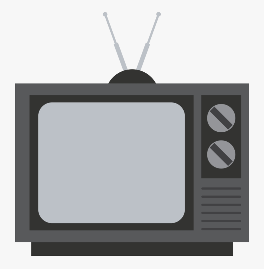 Tv Old Television Image Transparent Background Clipart - Transparent Background Tv Clipart, Transparent Clipart