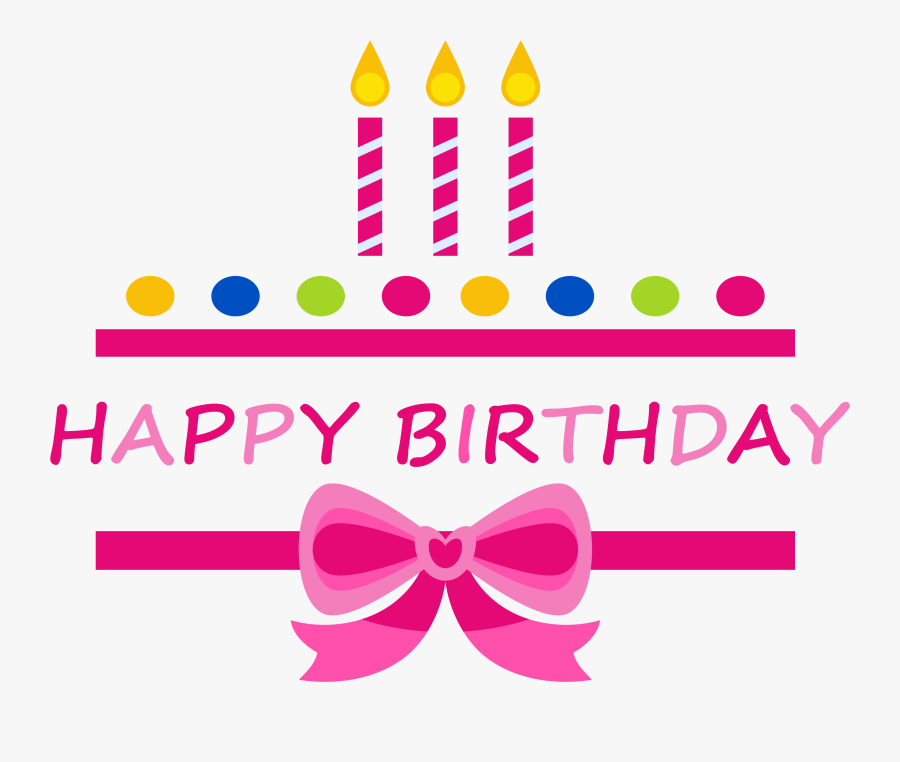 Birthday Cake Happy Birthday To You Clip Art - Clip Art Birthday Cake Graphic, Transparent Clipart