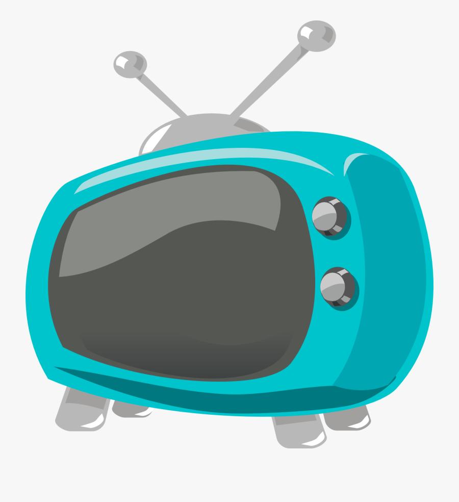 Tv Clip Art Free Vector Image - Cartoon Tv Clip Art, Transparent Clipart