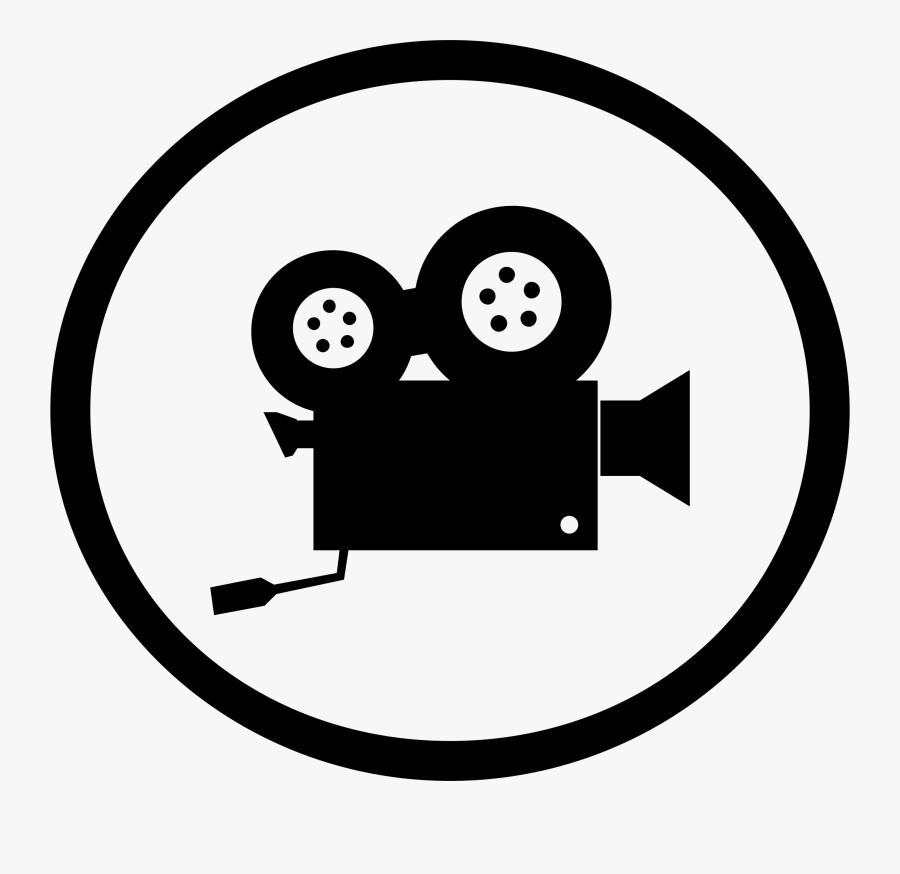 Video Camera Clipart - Clip Art Video Camera, Transparent Clipart