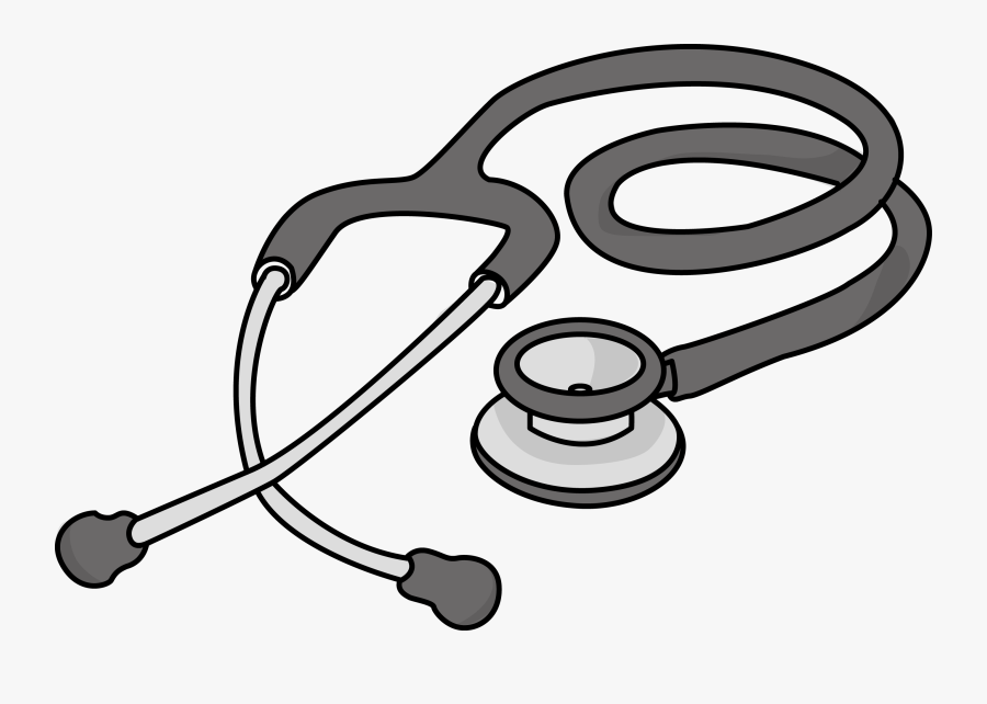 Free Cardiology Stethoscope Health High Resolution - Clip Art Stethoscope, Transparent Clipart