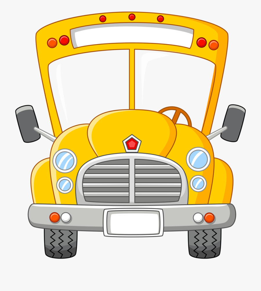 Transparent Bus Png - School Bus Driver Clip Art, Transparent Clipart