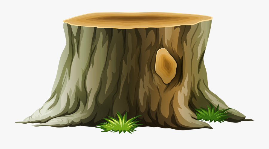Big Trunk Of Tree Clip Art , Png Download - Transparent Background Tree Stump Png, Transparent Clipart