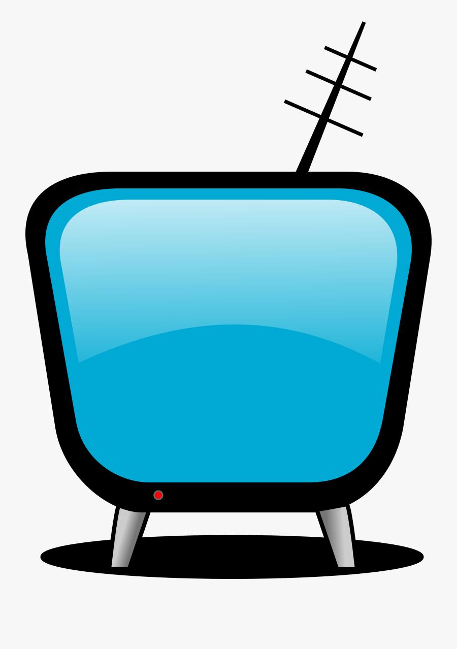 Television Clipart Free Clip Art Of Tv 7 Clipartwork - Tv Clip Art, Transparent Clipart