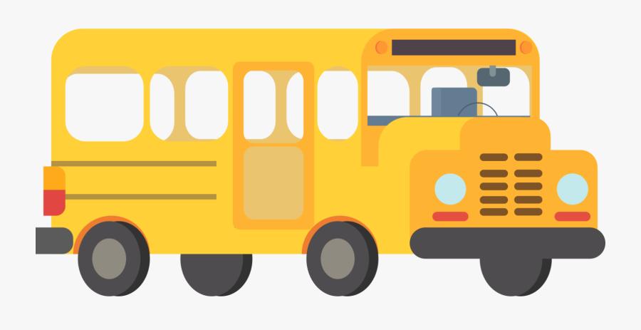 Toy,bus,brand - School Transparent Background Bus Clip Art, Transparent Clipart
