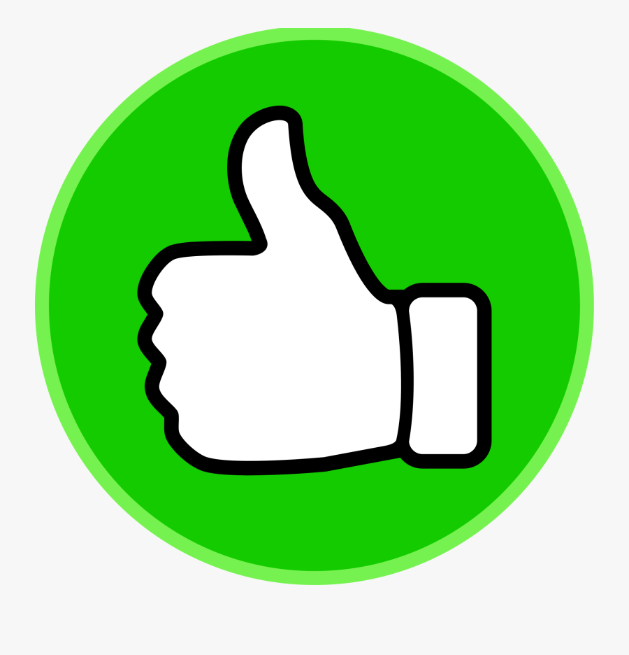 Clipart Thumbs Up Circle - Thumbs Up Clipart, Transparent Clipart