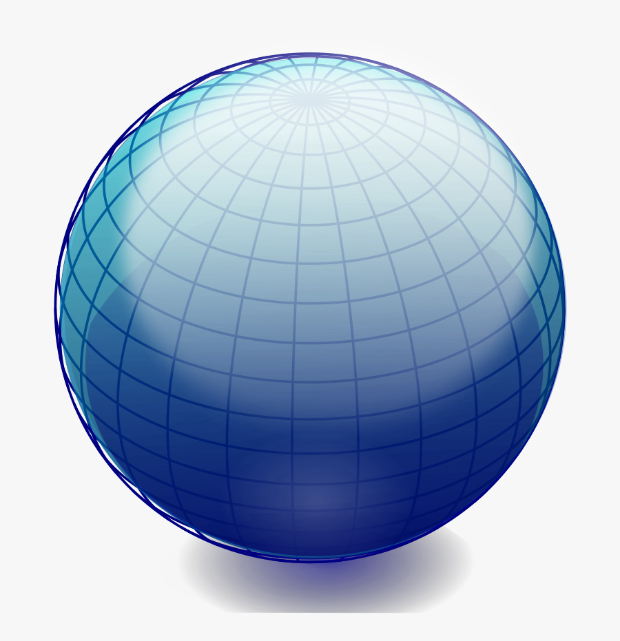 Earth Globe Clipart Vector Clip - Drawing Spheres Of The Earth, Transparent Clipart