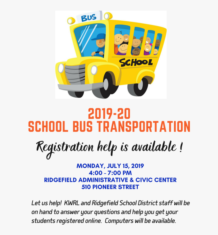 Transparent Background School Bus Clipart Png , Transparent - Free School Bus Cartoon, Transparent Clipart