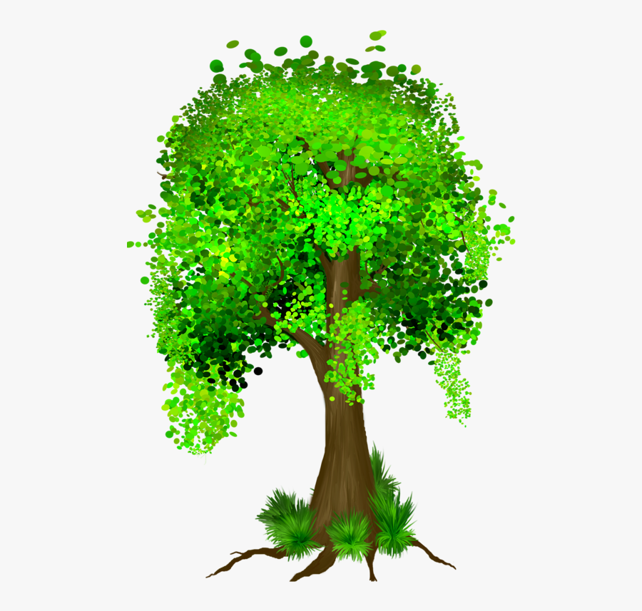 Money Tree With Falling Money, Transparent Clipart