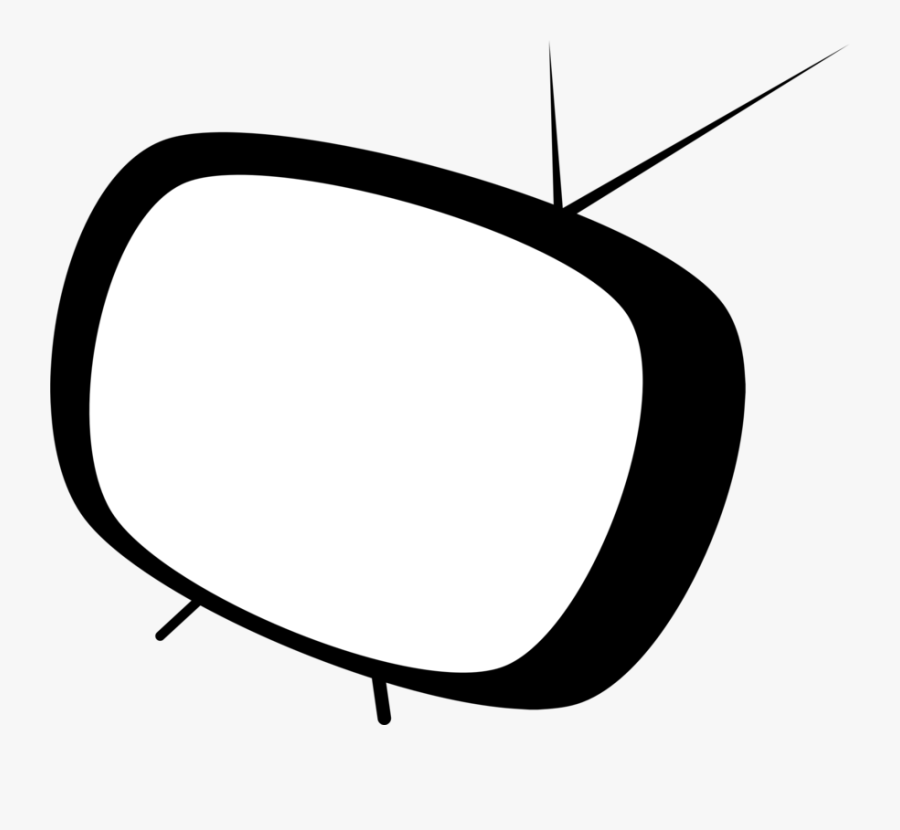 Tv Television Clip Art Image - Cartoon Tv Icon Png, Transparent Clipart