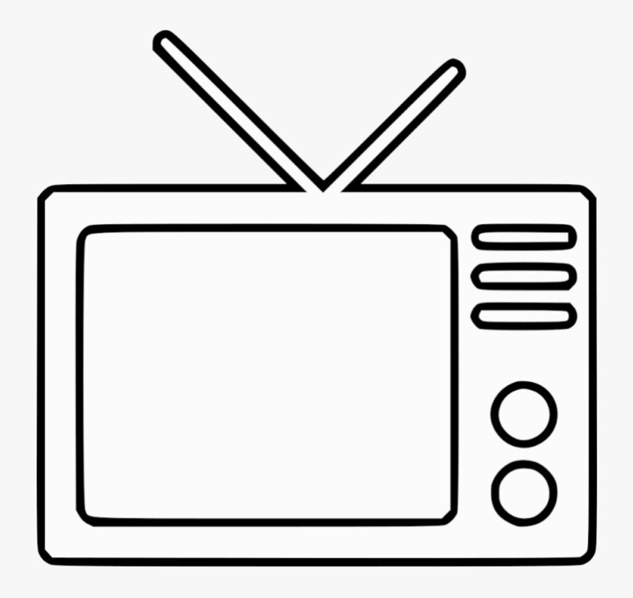 Tv Television Transparent Background Clipart Png - Transparent Background Tv Clipart, Transparent Clipart