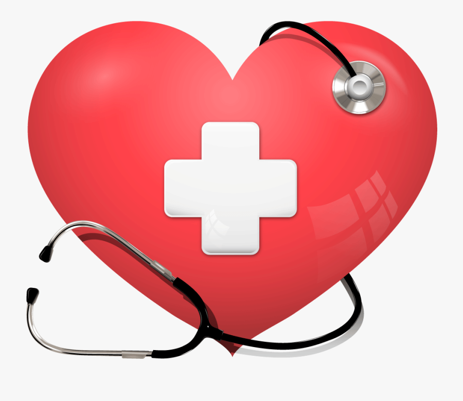 Heart And Stethoscope Clipart - Heart And Stethoscope Png, Transparent Clipart