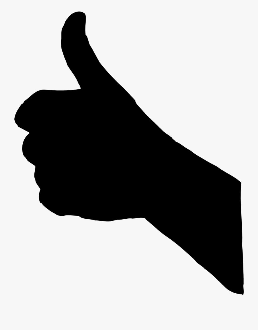 Symbol Thumbs Up Clip Art At Vector - Transparent Background Thumb Up Png, Transparent Clipart