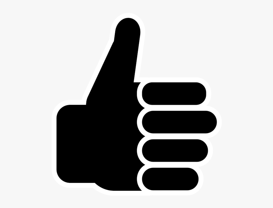 Symbol Thumbs Up Clip Art Vector Free Clipart - Royalty Free Thumbs Up, Transparent Clipart