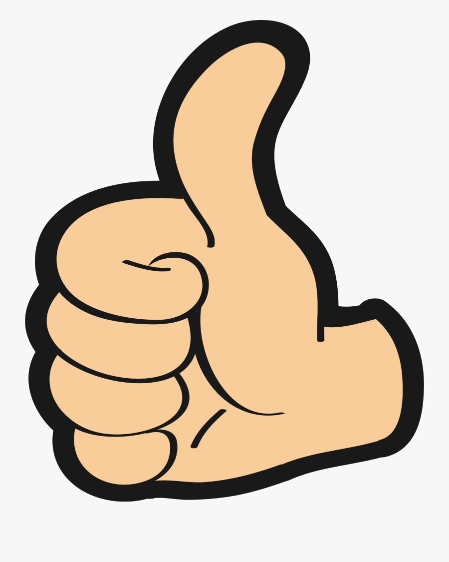Thumb,artwork,hand - Thumbs Up Clipart Png, Transparent Clipart