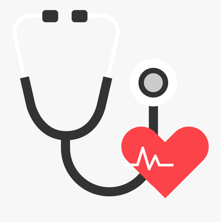Stethoscope Clipart Resolution - Stethoscope Flat Icon, Transparent Clipart