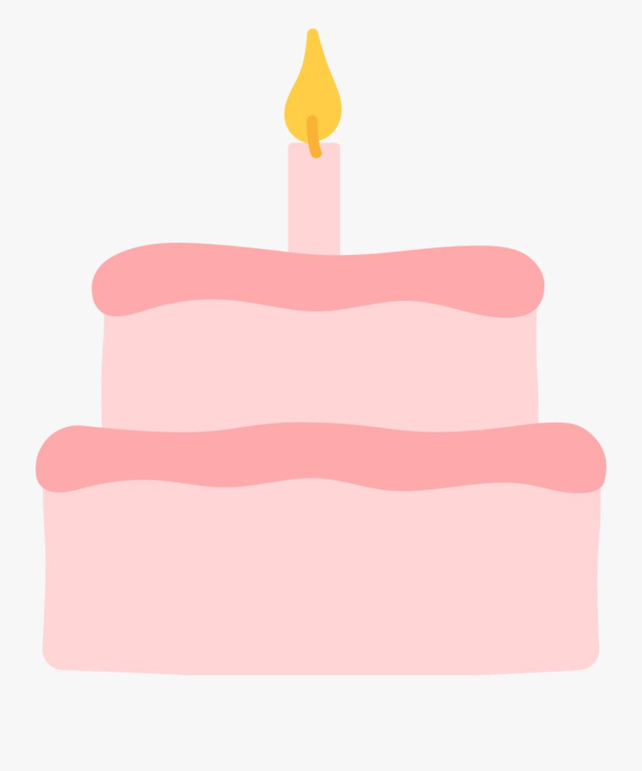 Birthday Cake - Birthday Candle, Transparent Clipart