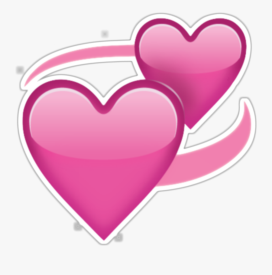 Free Clipart Png Images - Iphone Heart Emoji Png, Transparent Clipart