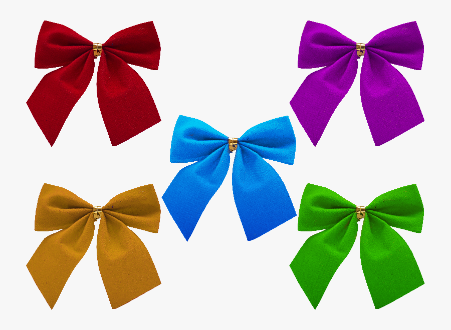 Christmas Bow Clipart Free - Bow Tie Gift Png, Transparent Clipart