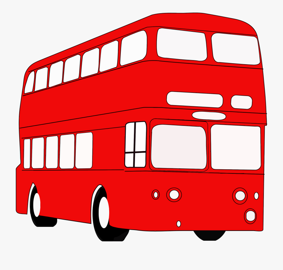 Double Decker Bus Clipart At Getdrawings - London Double Decker Bus Clipart, Transparent Clipart