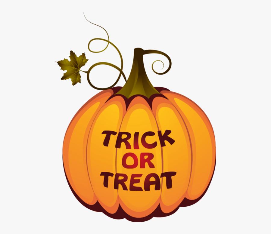 Trunk Or Treat Transparent Trick Or Treat Pumpkin Clipart - Halloween Pumpkins Png Transparent, Transparent Clipart
