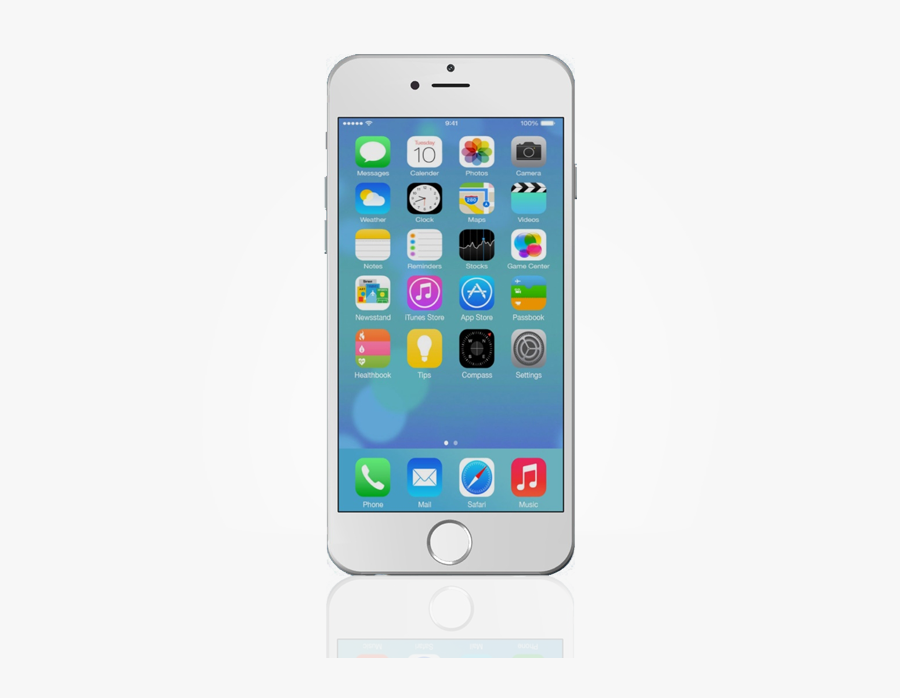 Download Apple Iphone Clipart Hq Image Freeimg - Smartphone Apple Iphone 7, Transparent Clipart