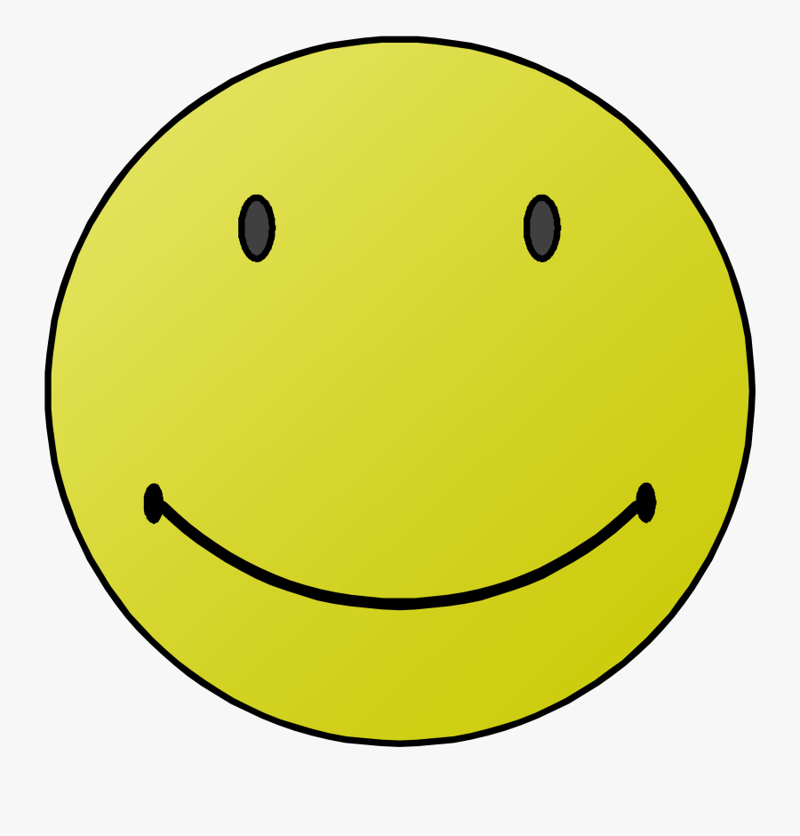 Happy Face Clip Art Black And White - Smiley Face Clipart Best, Transparent Clipart