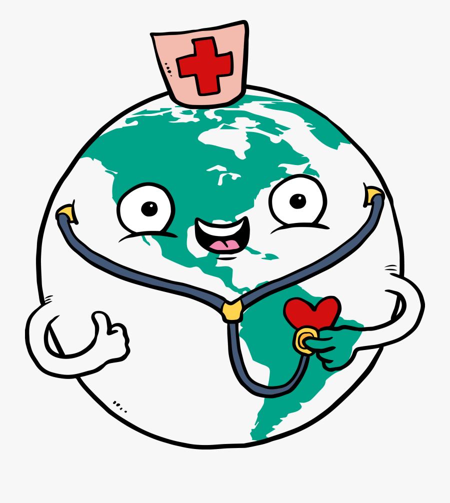 Stethoscope Clipart Nursing Stethoscope 9 - World Health Day Cartoon, Transparent Clipart