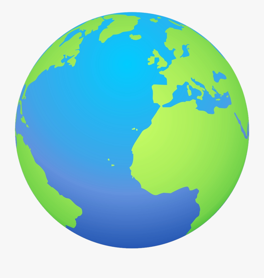 Earth Clipart No Background - Cartoon Transparent Background Earth, Transparent Clipart