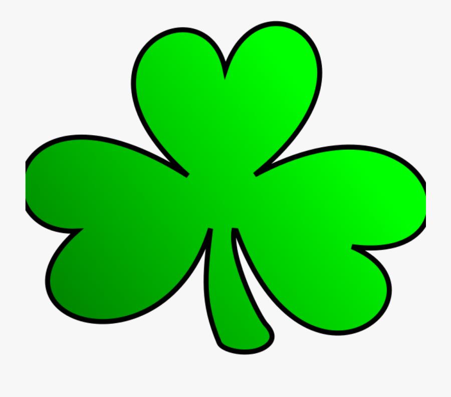 Green Shamrock - Irish Shamrock Clip Art, Transparent Clipart