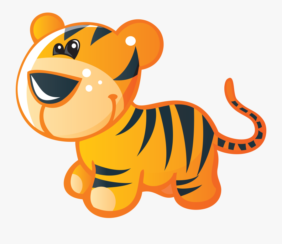 Baby Cat Clipart - การ์ตูน น่า รัก เสือ, Transparent Clipart