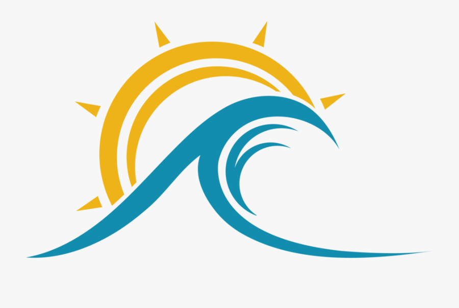 Wave Clipart Sun - Wave And Sun Transparent, Transparent Clipart