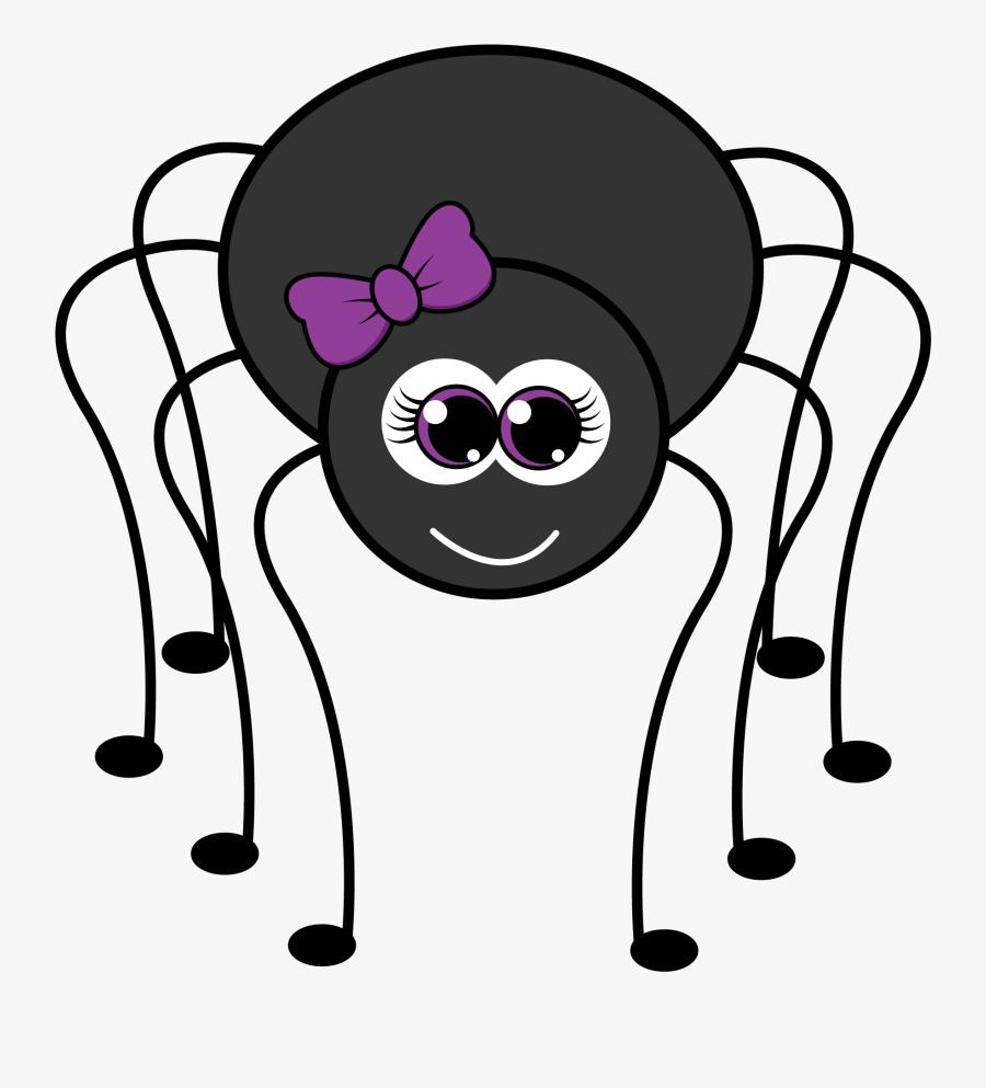 Transparent Preschool Clip Art - Cartoon Halloween Spider ...